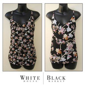 Reversible Vine & Floral Tank Top by WHBM